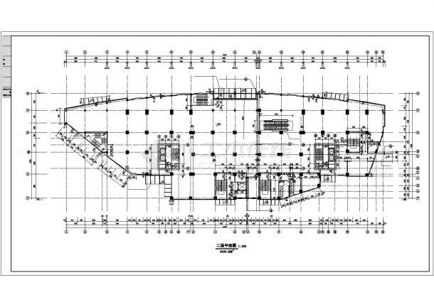 三门峡市春季花园小区23层框架结构住宅楼全套平面设计CAD图纸-图一