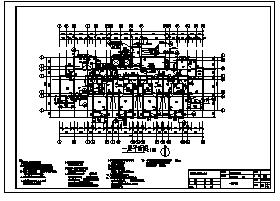 住宅楼设计_某地上18层剪力墙结构住宅楼建筑结构施工cad图纸-图一