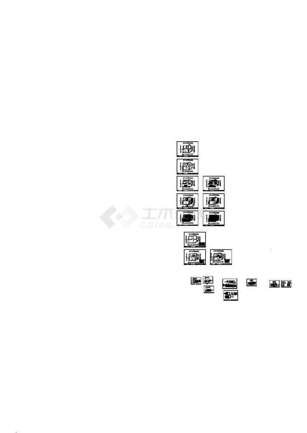 两居室内设计施工图内附效果图及完工实景照片-图一