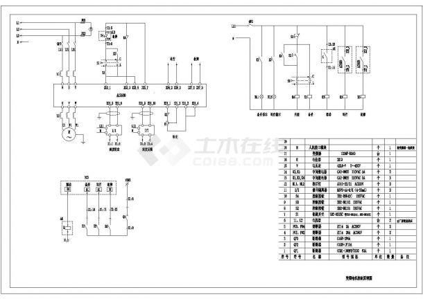 ACS600变频器柜lCAD图纸-图一