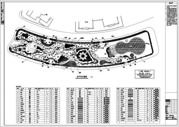园林绿化施工图纸-图二