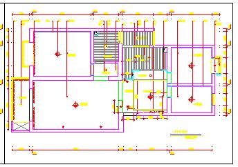 某两居室完整家居室内装饰cad设计施工图-图一