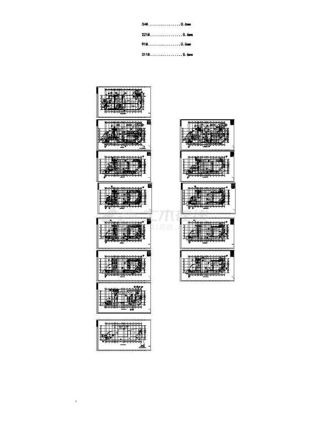 多层办公楼舒适性空调系统设计施工图(含负荷计算)-图一