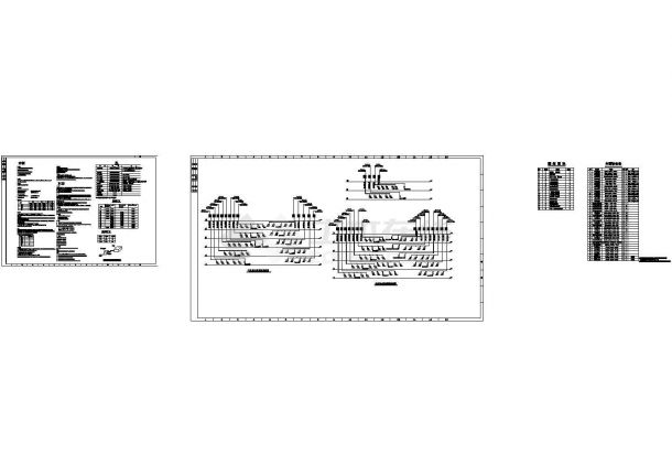 多层办公楼舒适性空调系统设计施工图(含负荷计算)-图二