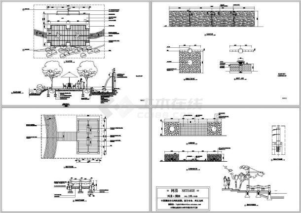 补水井、亲水平台大样图(标注详细)-图二