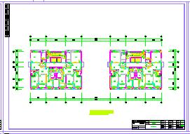 某大厦写字楼建筑暖通空调设计cad图纸-图一