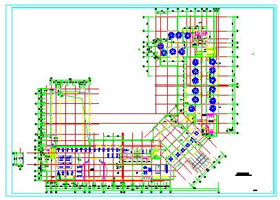 某大型绿城公寓建筑规划施工设计cad图纸-图一