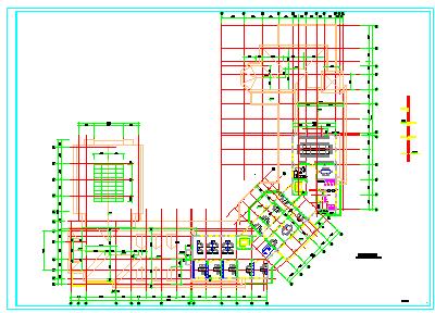某大型绿城公寓建筑规划施工设计cad图纸-图二