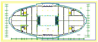 某大型宾馆暖通空调系统整套cad设计方案图-图一