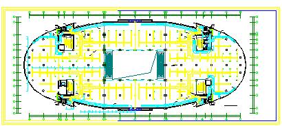 某大型宾馆暖通空调系统整套cad设计方案图-图二