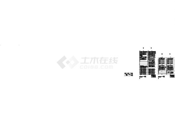 建筑施工图纸-火灾自动报警及消防联动系统图-图一