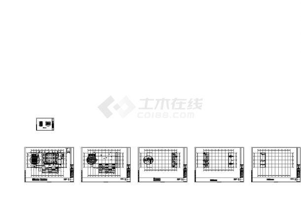长江大学石油科技中心暖通系统工程施工图(风机盘管,制冷机组)-图二