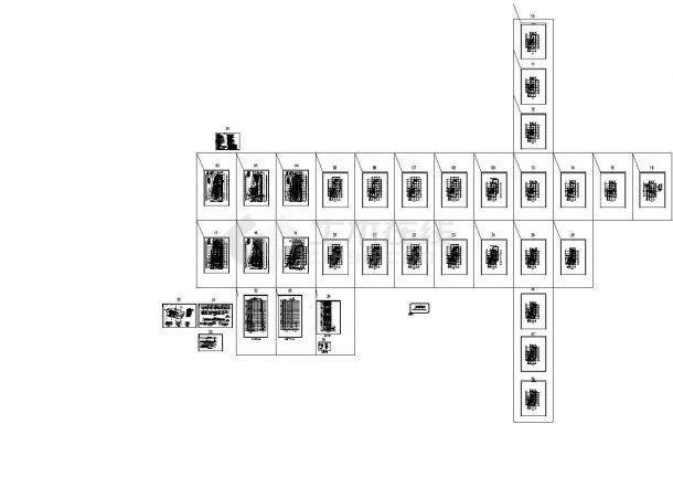 [北京]一类高层建筑给排水图纸(人防,车库,设备用房)-图一