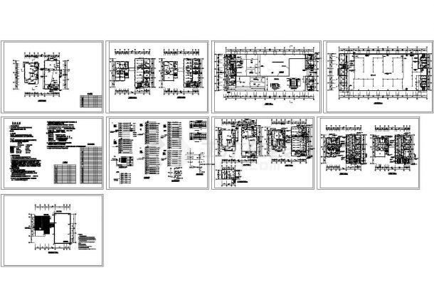 职工用房及工业厂房电气图-图一