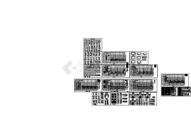 带核六级人防地下室高层结构施工图-图一