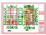 世茂湖滨花园别墅建筑设计施工图-图二