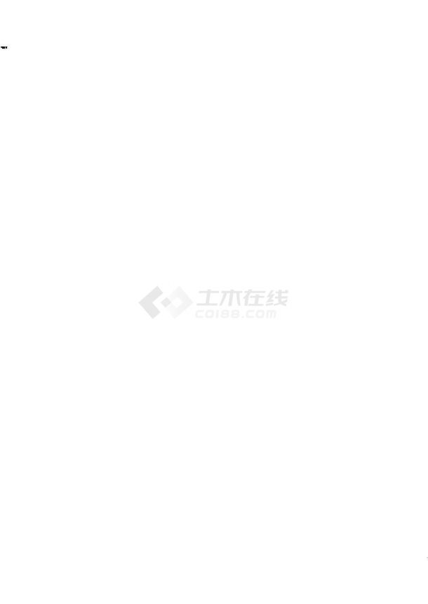 [湖北]14万平高层综合楼给排水施工图纸(酒店、商业、住宅)-图一