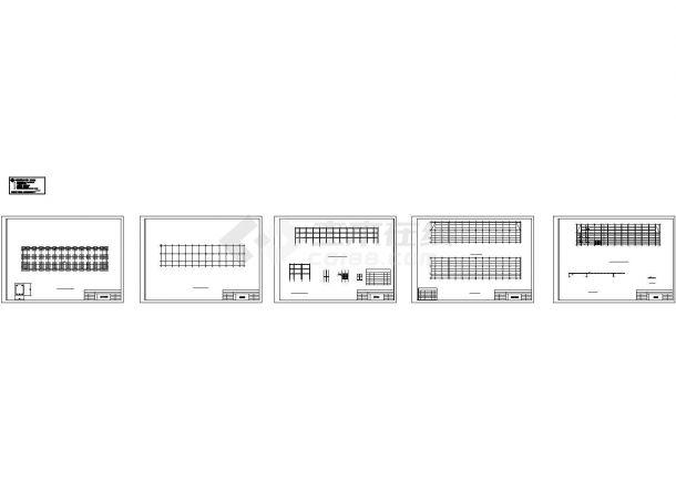 4527平米三层框架车间建筑结构毕业设计全套图纸(计算书)-图二