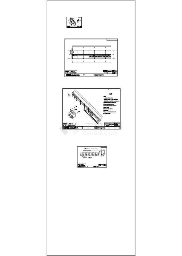 某环保工程油烟废气处理设计cad施工图纸(含设计说明)-图一