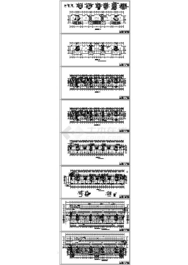 某13层公寓楼建筑设计cad全套平面施工方案图纸(甲级院设计)-图二