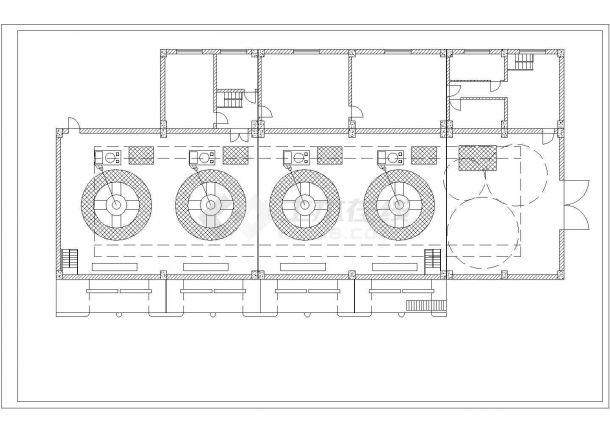 水利发电站厂房全套建筑设计施工图-图一