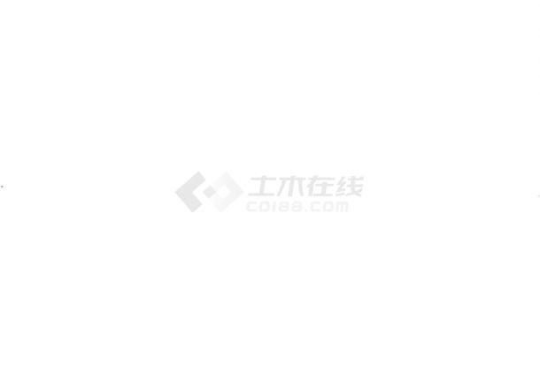 北京某商会所室内设计CAD施工图(含效果图).-图一