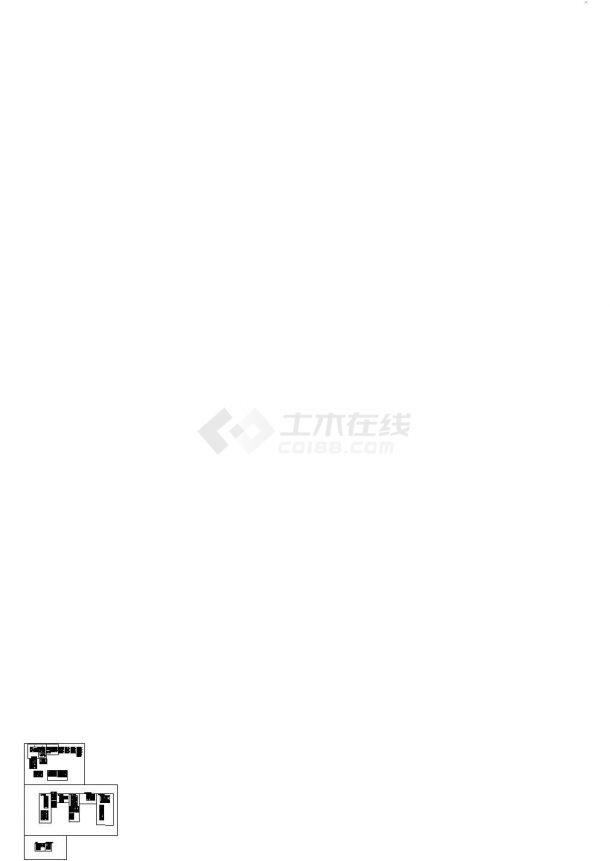 北京某商会所室内设计CAD施工图(含效果图).-图二