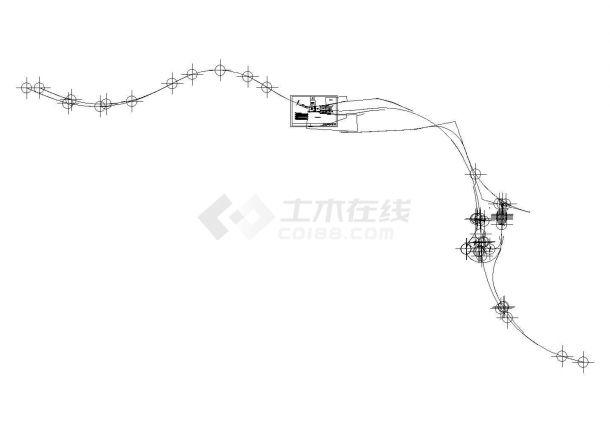 9孔30m装配式预应力混凝土箱梁大桥CAD施工组织设计图及概预算(含施工总平图)-图二