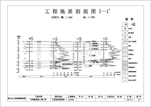某机场地质勘察详图及报告-图二