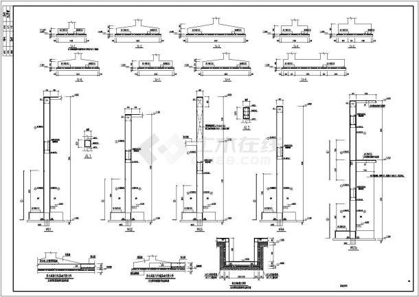 山东省某市委党校会议中心整体装修结构施工设计CAD图纸-图一