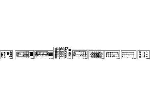 6474.13平米六层银行综合办公楼全套毕业设计(计算书、开题报告、实习报告、建筑、结构图)-图二