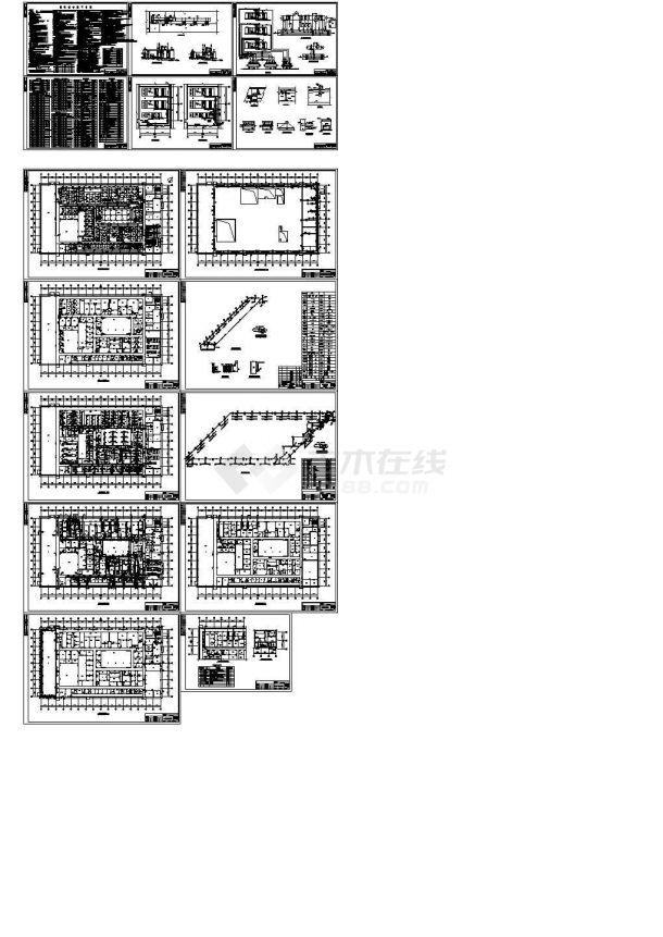 某地工厂固体制剂车间净化空调设计施工图(十六张)-图一
