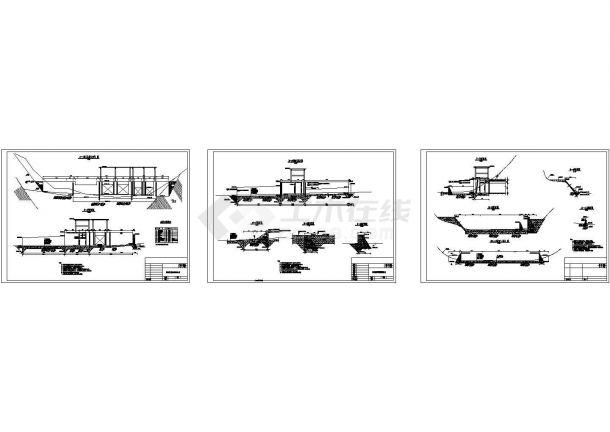 [四川]水电站工程初步设计施工图(引水隧洞 压力管道 调压井)-图一