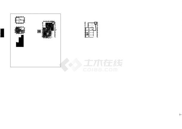 上海某五层综合楼暖通设计施工CAD图-图一