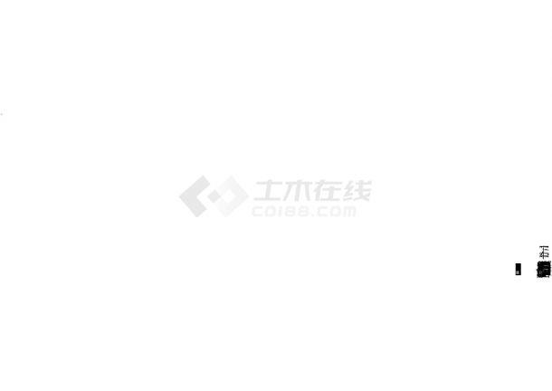 上海某五层综合楼暖通设计施工CAD图-图二