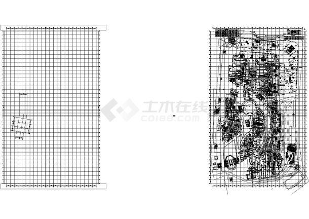 [山东]多功能商业综合体空调通风排烟系统设计施工图(含负荷水力计算 详图多)-图二