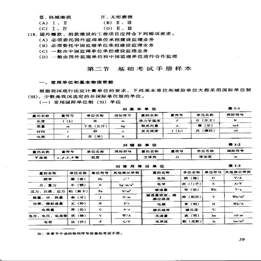 一级结构基础考试考试公式,一定要记住。-图一