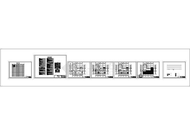 [湖南]泵站给排水及消防施工图-图一