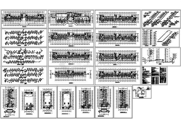 [施工图]高层行政办公楼暖通空调及防排烟系统设计施工图(含动力工程)-图一