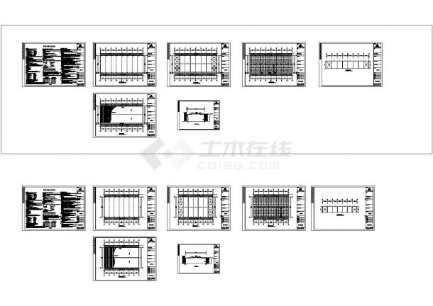 某跨度24米单层门式刚架厂房建筑施工图纸,含钢结构设计总说明-图一