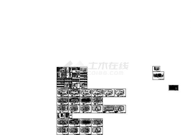 五层商业广场电气智能应急疏散照明系统设计图-图一