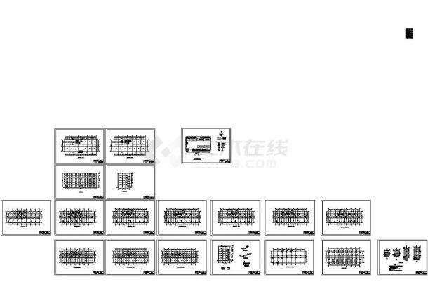 某15级土木工程全套毕业设计(6层教学楼,框架结构)-图一
