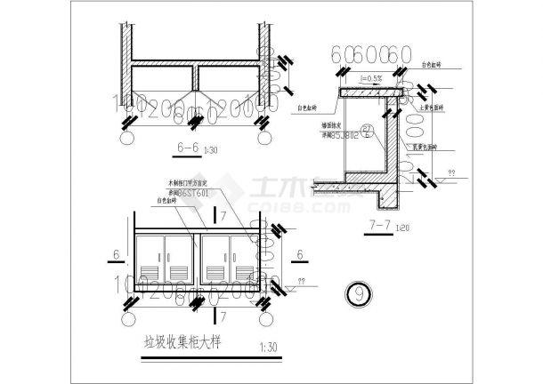经典建筑工程cad节点详图图集(甲级院设计)-图一