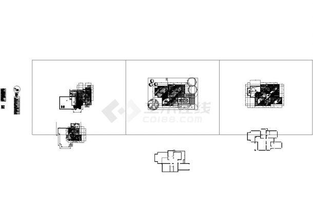 二层高山流水别墅样板房装修设计图( 5张JPG手绘 1XLS物料清单)-图一