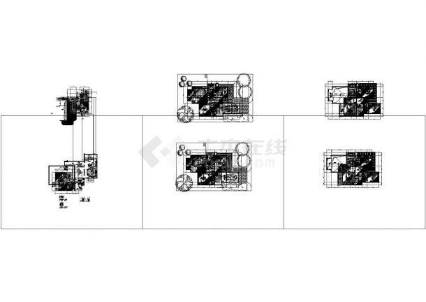 二层高山流水别墅样板房装修设计图( 5张JPG手绘 1XLS物料清单)-图二