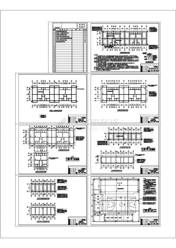 某六层住宅楼防雷接地设计cad全套施工图(含施工说明)-图一