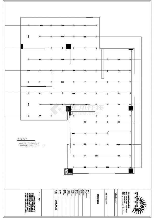 思可达家具专卖店室内装修设计cad全套施工图-图一