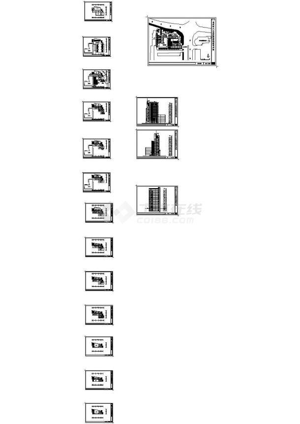 [行政建筑图纸]-[甘肃]-兰州市人大办公楼-图一