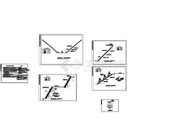 某道路生态系统工程生态带袋护坡施工图(含说明)-图一