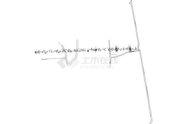 福建市政桥梁深基坑U型钢板桩加钢管支撑支护施工cad图纸(含基坑设计说明)-图二